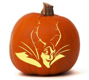Maleficent Sleeping Beauty Pumpkin Glow