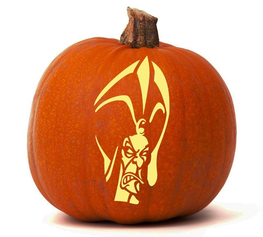 Jafar Aladdin Pumpkin Glow