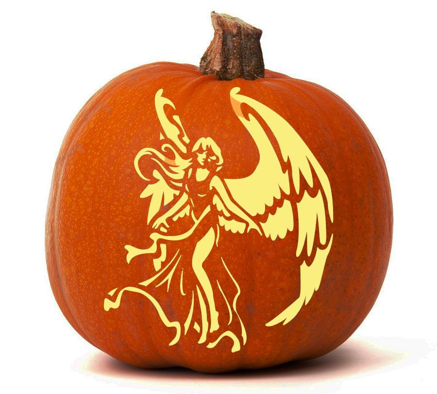 Angel - Pumpkin Glow